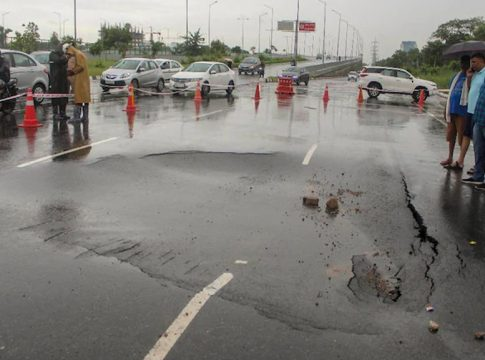 road at the IFFCO Chowk_2020 Aug 21