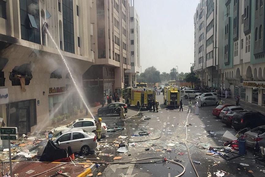 Abu dhabi Gas leak