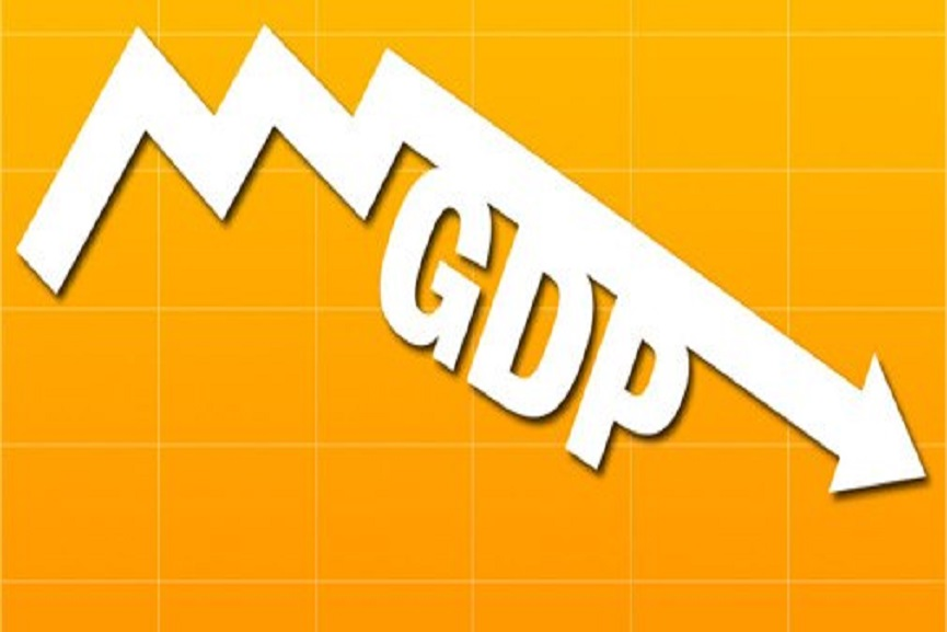 GDP shrinks by 23.9%