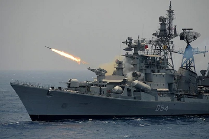 Indian navy in the south china sea