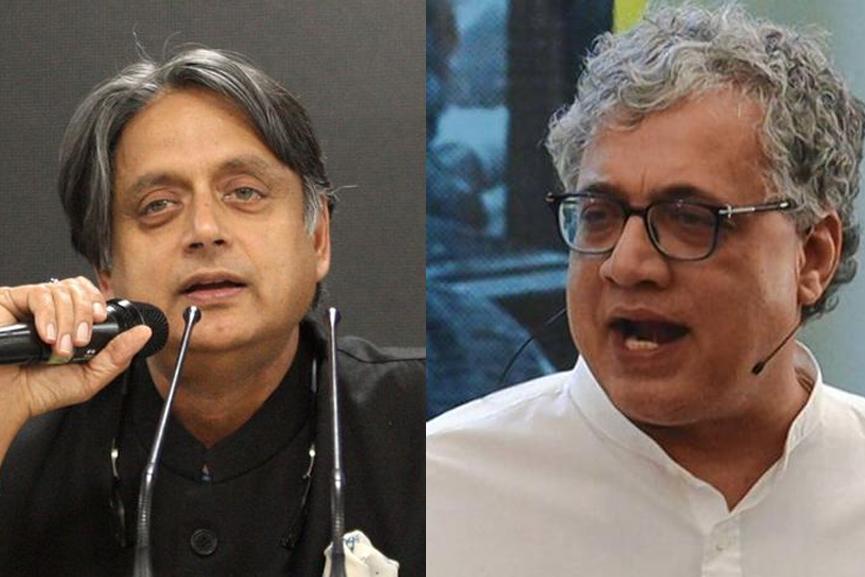 Shashi Tharoor, Derek O'Brien_2020 Sep 02