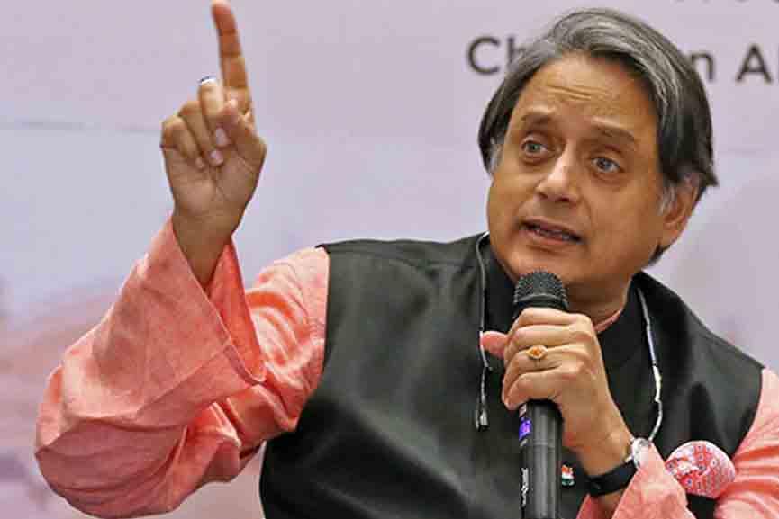 Shashi-Tharoor on Pegasus Snoopgate
