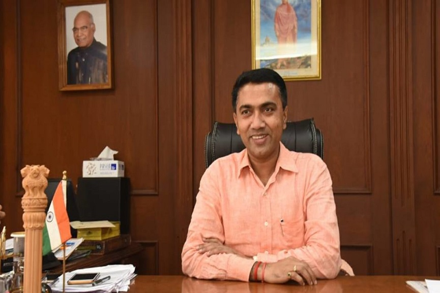 Pramod Sawant Tests covid positive