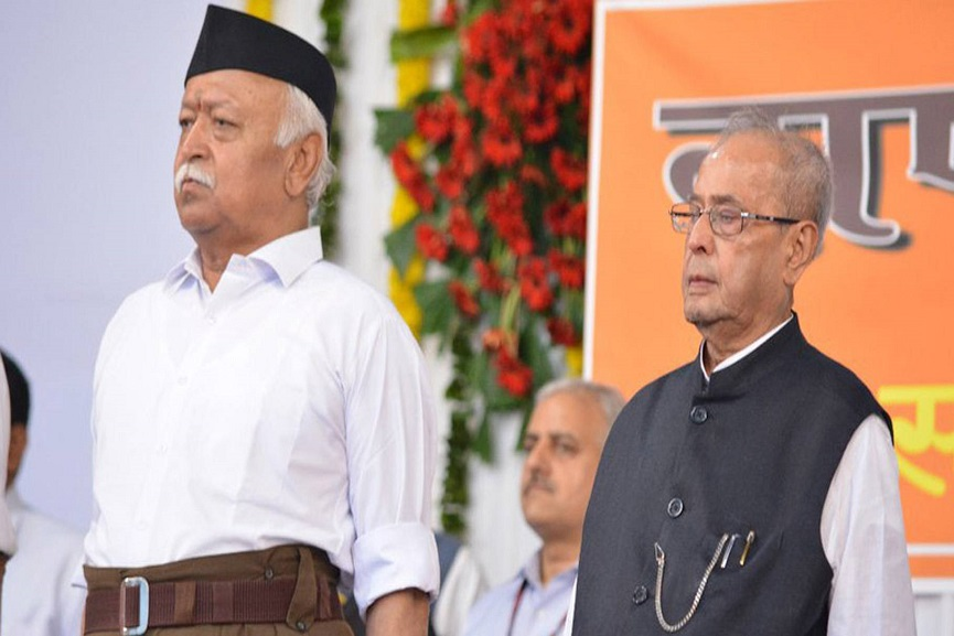 Mohan bhagwat and Pranab mukherjee_Malabar News