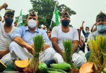 Youth league protest for farmers_Malabar News
