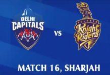 DC and KKR IPL _Malabar News