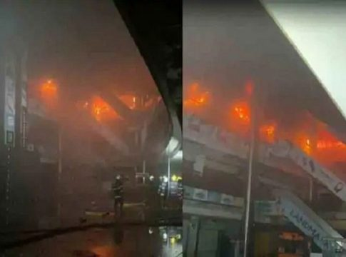 Fire in mUMbai shopping mall