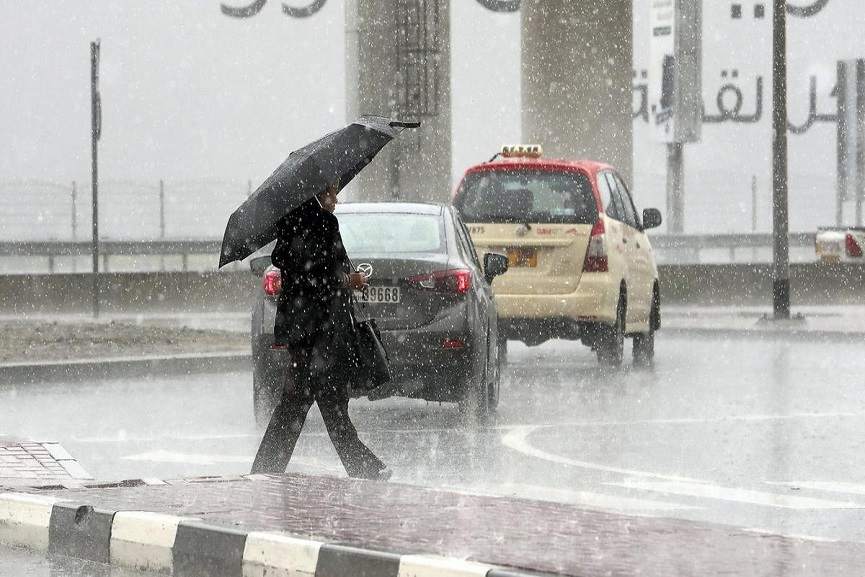 Malabarnews_heavy rain in uae
