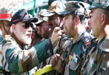 Prime Minister with indian army_Malabar news