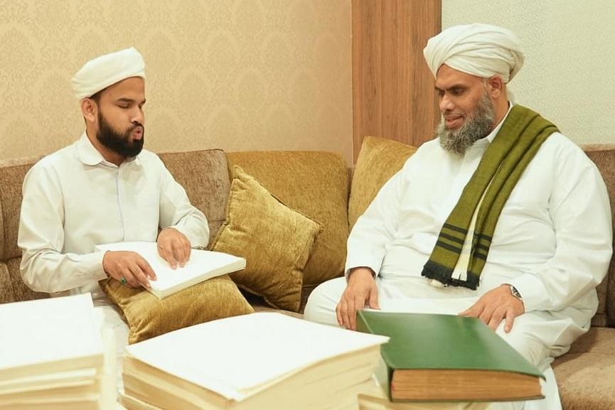 Jalaludeen with Khaleel Al Bukhari _ Malabar News