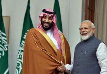 Malabar-News_Mohammed-bin-Salman,-Narendra-Modi