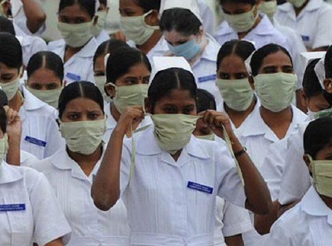 Nurses Strike AIIMS