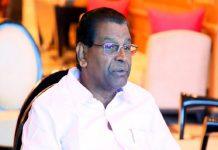 thiruvanchoor radhakrishnan tested positive for covid