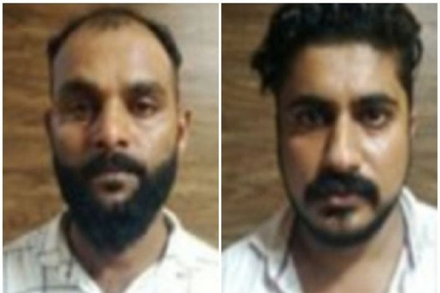Two arrested with cannabis and hashish