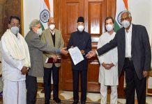 Opposition-leaders-meeting-president_Malabar news
