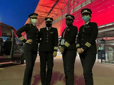 Air-India-all-women-crew-makes-history