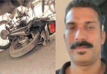 Naduvattom lorry bike accident
