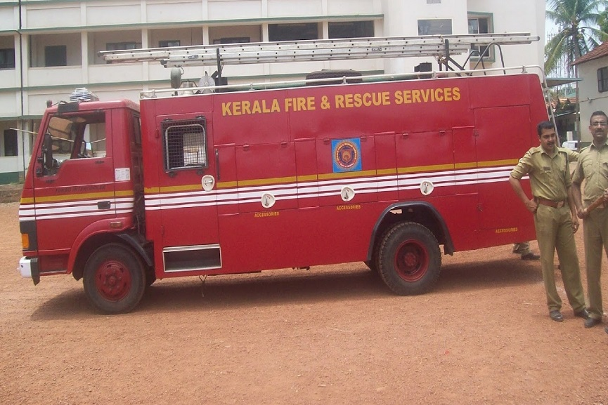 fire and rescue kerala