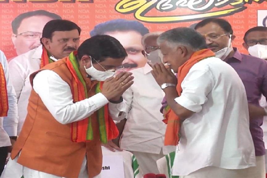 CPIM activists in the BJP_ Kovalam