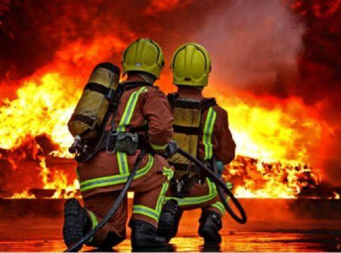 Fire-out break