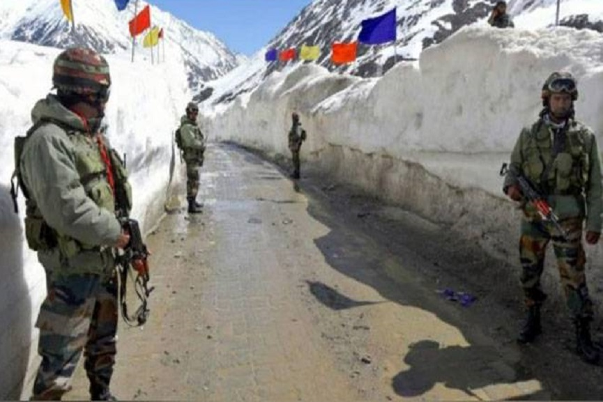 India-China border on peace path; The structures in Finger Five began to be demolished