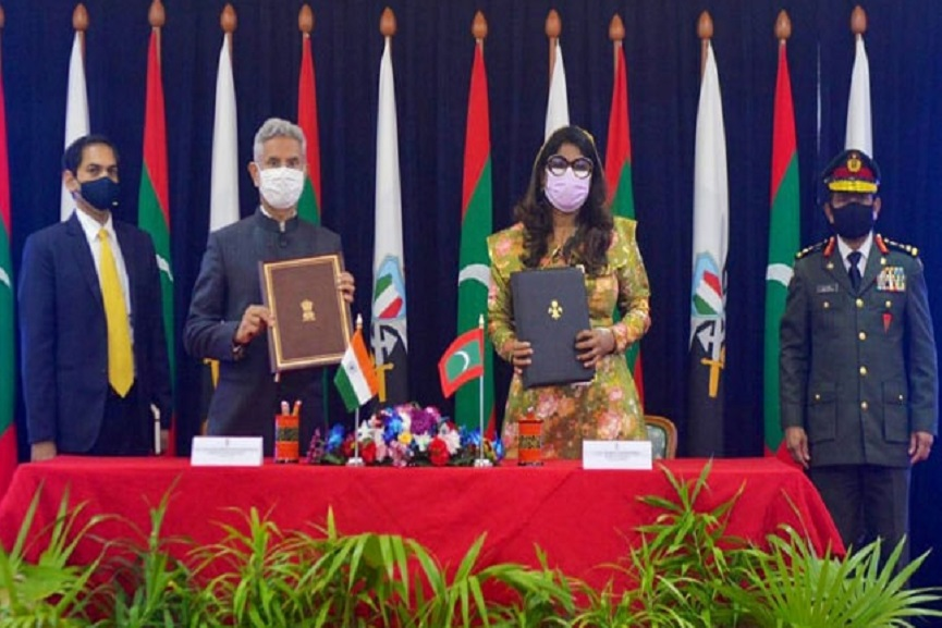 India, Maldives Sign $50 Million Defence Agreement