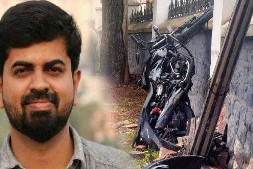 KM Basheer Accident case