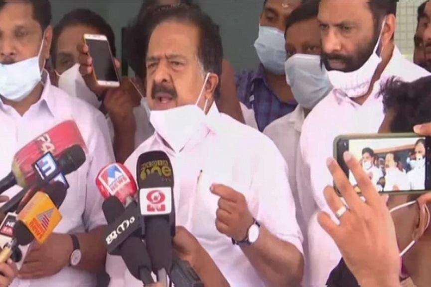 Ramesh chennithala against cpm