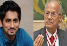 Sidharth about Sreedharan