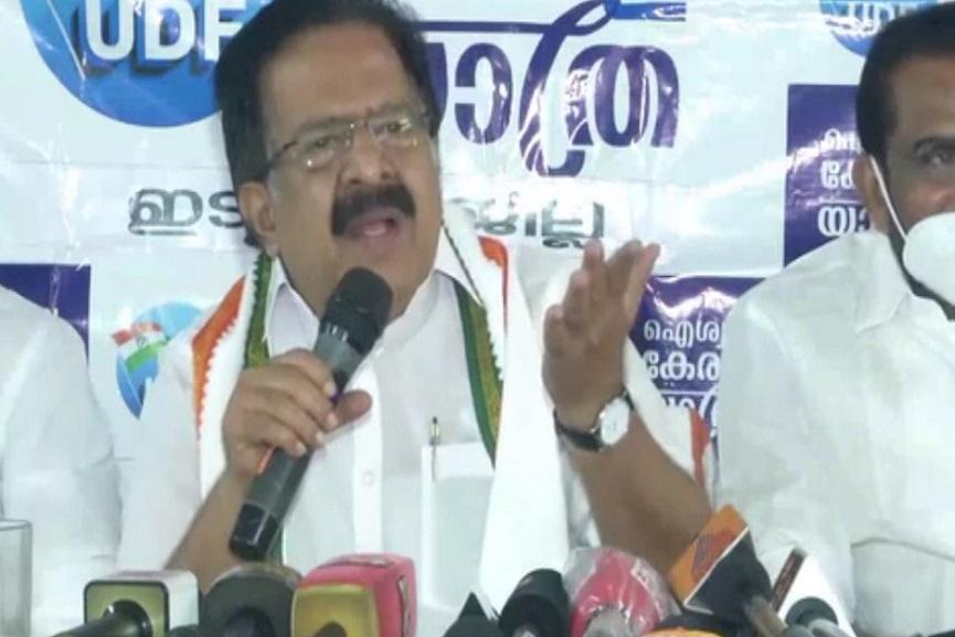 Chennithala Against LDF