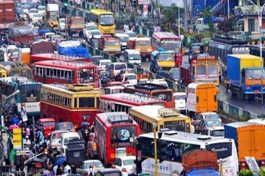 motor- vehicle strike