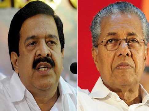 Chennithala against cpm
