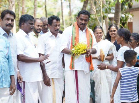 Adv TK Ashokkumar BJP Candidate