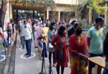 Heavy polling in Bengal and Assam