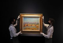 Rare painting by Winston Churchill; It was sold at auction for Rs 85 crore