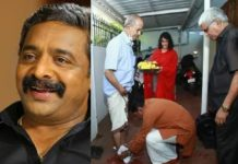 E Sreedharan's Feet Washing_Renji Panicker