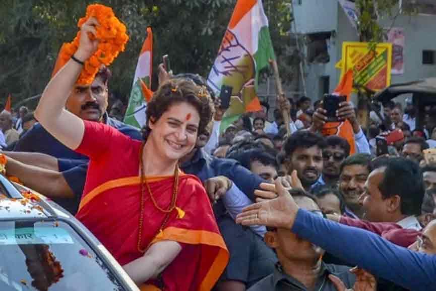 Shiv Sena on Priyanka-Gandhi's arrest