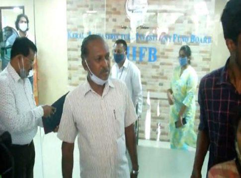 Income tax raid in kiifb