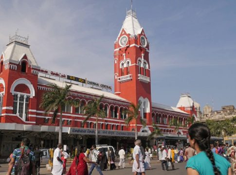 murder at chennai railway station