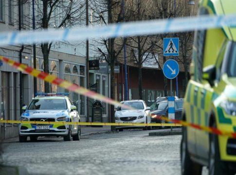 knife attack in Sweden