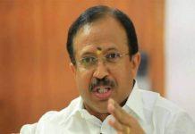 should register Attempt to murder case against CM; V Muraleedharan