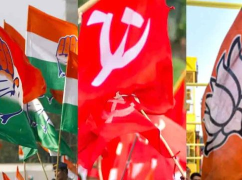 Congress,-CPM,-BJP