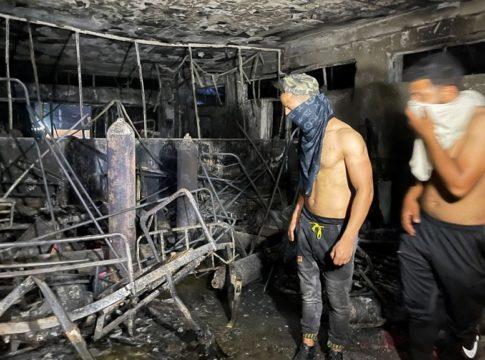 Iraq_ Covid Hospital Fire