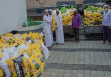Ma'din Academy; Distributed Ramadan Mercy Kits