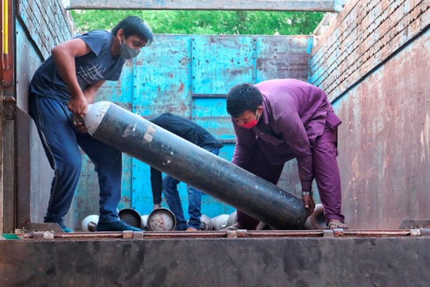 delhi oxygen