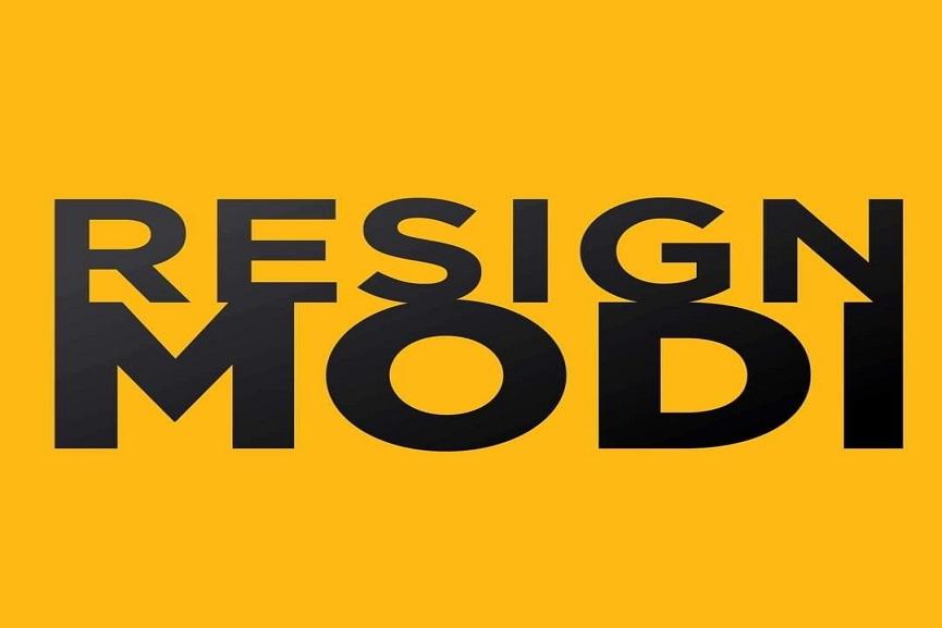 resign modi
