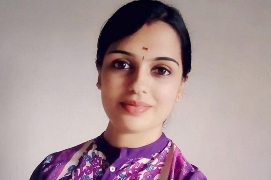 Director Sreeshma R Menon