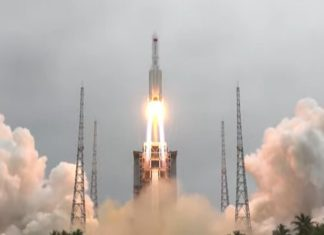 Fall of the Chinese rocket before April 10