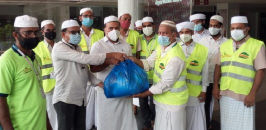 Hand of mercy; SYS distributed food kits