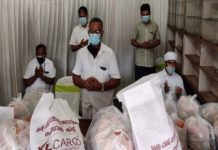 Kerala Haj Committee food kit distribution